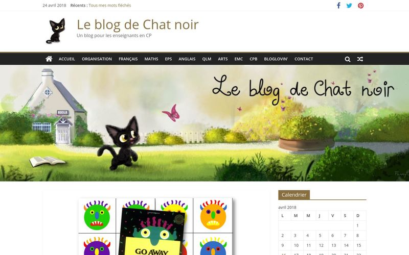Le blog de Chat noir : Go away, big green monster !